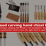 Best wood carving hand chisel tool set